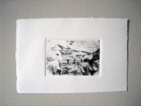 Drypoint on copper